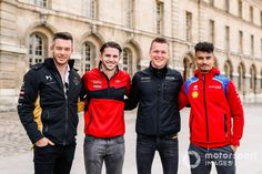 Andre Lotterer, Pascal Wehrlein, Formula E, Audi Sport, Ds, Motorcycle Jacket, Racing, Sports, Fashion