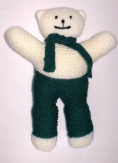 Charity bear made by Blue Light Babies, UK, for yarndale.co.uk Crochet Bear Patterns, Knitting Patterns, We Bear, Bear Face, Types Of Yarn, Photo Tutorial, Neutral Colors, Charity, Bears