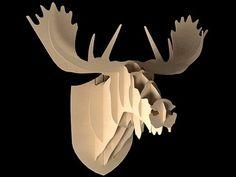 Vlaemsch () Moose 3d model |  Big Game
