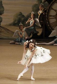 Ana Turazashvili of the Bolshoi Ballet