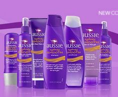 I love Aussie hair products