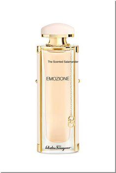 Salvatore Ferragamo Emozione (2015) {New Perfume} http://www.mimifroufrou.com/scentedsalamander/2014/09/salvatore_ferragamo_emozione_fragrance.html