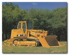 Wall posters are the newest and best way to decorate any space. Wall poster makes it possible to add or to change the design of any room within a minute. This poster captures the image of yellow Caterpillar track truck loader equipment which is sure to grab lot of attention. The durable quality with high degree of color accuracy ensures long lasting beauty of this poster.