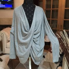 All Saints Grey Tunic Grey soft Tunis, size 8 All Saints Tops Tunics