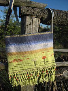 a bag Loom, Burlap, Reusable Tote Bags, Hessian Fabric, Fabric Frame, Jute, Canvas