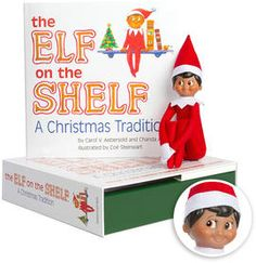 The Elf on the Shelf Boy Dark Doll with Book by Carol V. Aebersold (9780976990796) | Buy online at Angus & Robertson