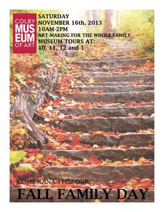 Family Day, Fall Family, Colby College, Mountain Bike Trails, Local Attractions, Rafting, Outdoor Activities, New England, Museum