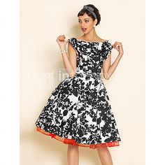 TS VINTAGE Swing- Kleid mit Petticoat - EUR €28.49