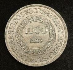 Brazilian Coins - 1000 Reis coin