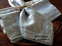 Stonewashed Linen Napkins Set of 4 Dinner by JJHomeBoutique Linen Napkins, Napkins Set, Hipster Sweater, Elite Socks, Furniture Deals, Reception Decorations, Gray Color, Trending Outfits, Handmade Gifts