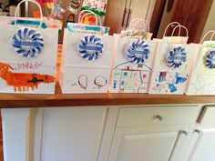 Fathers day craft bag