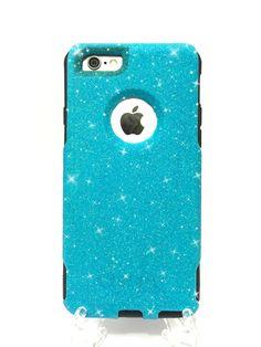 iPhone 6 4.7 inch Custom Glitter Otterbox Commuter by NaughtyWoman