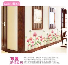 Cncondom flower kitchen home adornment wall living room stickers on the wall. If You get more ideas click picture . Room Stickers, Kitchen Wall Stickers, Kitchen Wall Art, Living Room Kitchen, Kitchen Decor, Kitchen Design, Aluminum Foil Art, Removable Wall Stickers, Art Decor