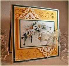 Vintage Daisies by csroyal - Cards and Paper Crafts at Splitcoaststampers