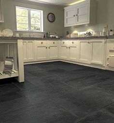 Large Stone Tile Flooring Stone Flooring Aged Grey And Black