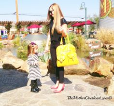 Mom Fashion - Black with pops of color