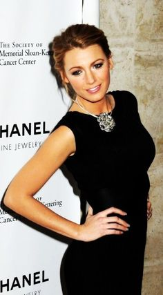 Blake Lively  - my women-crush. Love her hair, makeup, and clothes = basically everything about how she looks xx