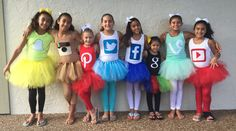 Hey, I found this really awesome Etsy listing at https://www.etsy.com/listing/251179575/social-media-tutus-costumes-group