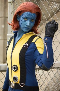 Character: Mystique (Raven Darkhölme) / From: MARVEL Comics 'The Uncanny X-Men' & Fox Films 'X-Men: First Class' / Cosplayer: Some Like It Blue / Photo: Siffy