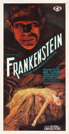 Frankenstein Poster Leads $2.1 Million Sale - artnet News