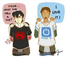 I love this! Plus I would want that Bi shirt!