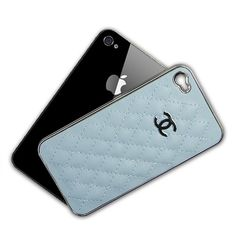 Double C Leather, Plastic Case for iPhone iPhone - Grizzly Gadgets 4s Cases, Cool Iphone Cases, Best Iphone, Iphone Camera, Camera Case, Iphone 4s, Silver Bands, Cheap Iphones, Make Pictures