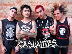 ¿Qué tanto sabes de THE CASUALTIES?