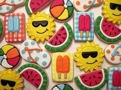 Laura's Custom Cookies Gallery: Summertime