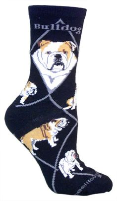 Bulldog Socks