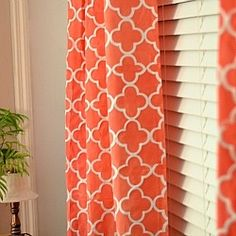 Great tutorial for stenciling curtains@  #diy #createandbabble @Looksi Square