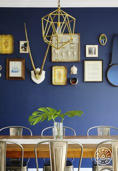 Unexpected wall decor: Don't relegate your globally-sourced items for horizontal surfaces! #etsy #homepolish