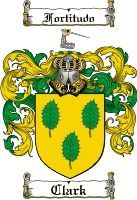 Clark Family Crest / Clark Coat of Arms