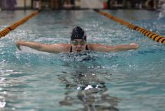 Women's swimming competed against College of Saint Elizabeth on January 17, winning 58-32. #WildcatsAthletics