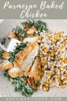 Parmesan Baked Chicken – Naptime Kitchen