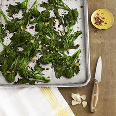Spicy Balsamic Broccoli Rabe Recipe - Country Living