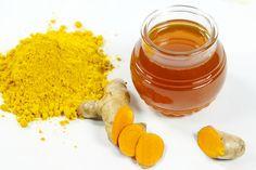 Chữa bênh đau dạ dày bằng mật ong và nghệ