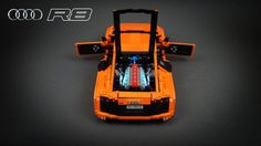 Nice Audi: Audi R8 V10   by SarielLego...  LEGO CARS CONT Check more at http://24car.top/2017/2017/04/21/audi-audi-r8-v10-by-sariellego-lego-cars-cont-2/