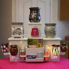 Bold Display Tower for Scentsy/PartyLite Plug In Warmer