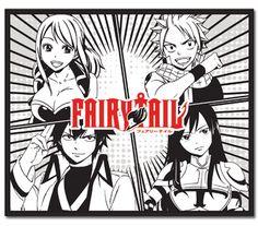 Fairy Tail Season 5 Group Anime Throw Blanket