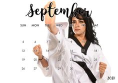 @BlackBeltImage Karate Girl, Art Calendar, Martial Arts, Coat, Sports, Women, Fashion, Fine Art, Girls