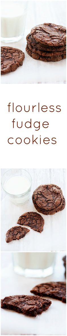 flourless fudge cookies - Heather's French Press