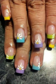 I have a collection of 15 Spring Gel Nail Art Designs, Ideas & Stickers 2016 that you can try out in this beautiful season of mist and mallows. Cute Spring Nails, Spring Nail Art, Nail Designs Spring, Nail Art Designs, Nails Design, Easter Nail Designs, Floral Designs, Long Stiletto Nails, Toe Nails