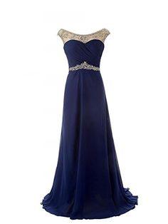 JAEDEN Girls Cap Sleeve Jeweled Chiffon Evening Dress Prom Gown Navy Blue US 2 JAEDEN http://www.amazon.com/dp/B00OJUX4H8/ref=cm_sw_r_pi_dp_vOFvub05KW0MT