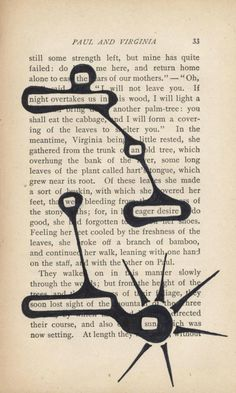 A beautiful way to write poetry, all you do is organize words in a different way.