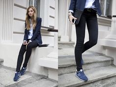 New Balance Sneakers, H&M Jacket