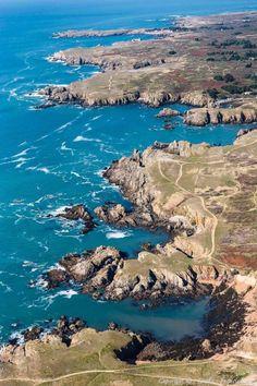 Photo aérienne de Ile d'Yeu - Vendée, France