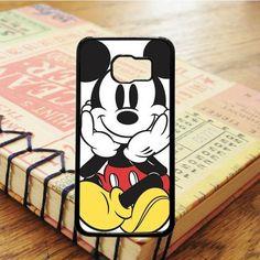 Mickey Mouse Cartoon Samsung Galaxy S7 Edge Case