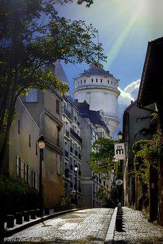 Montmartre , Paris Château d'eau.