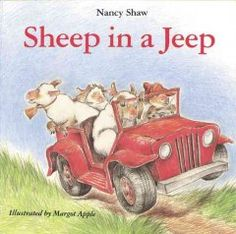 Sheep in a Jeep by Nancy Shaw  Storytime Kit J #SweetBranch #SweetBranchSLCPL #libraries