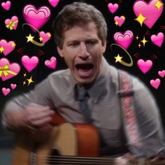A whole ass mood Brooklyn Nine Nine Funny, Brooklyn 9 9, 100 Memes, All Meme, Andy Samberg, Series Movies, Tv Series, Mundo Hippie, Charles Boyle